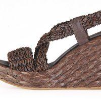 Sandalia de cuña de la colección femenina primavera/verano 2013 de U.S. Polo Assn.