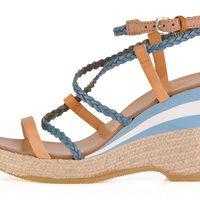 Sandalia abierta con cuña de la colección femenina primavera/verano 2013 de U.S. Polo Assn.