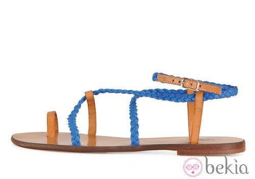 Sandalia plana de la colección femenina primavera/verano 2013 de U.S. Polo Assn.