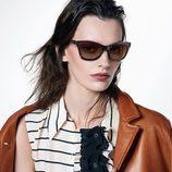 Chaqueta de cuero de la colección pre-fall 2013 de Prada