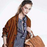 Vestido de cuadros Vichy de la colección pre-fall 2013 de Prada