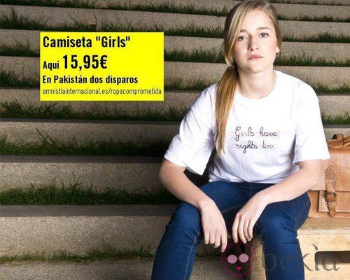 Camiseta 'Girls' de la colección 'Ropa Comprometida' de Amnistía Internacional
