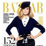 Heidi Klum, portada de Harper's Bazaar Rusia en septiembre de 2011