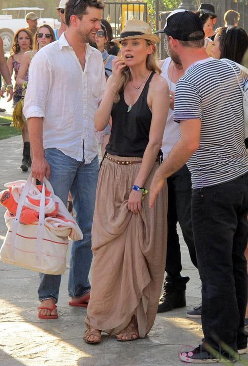 Diane Kruger en el Festival de Coachella