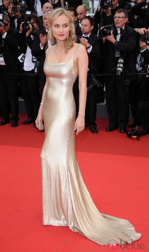 Diane Kruger de Calvin Klein en el Festival de Cannes 2011