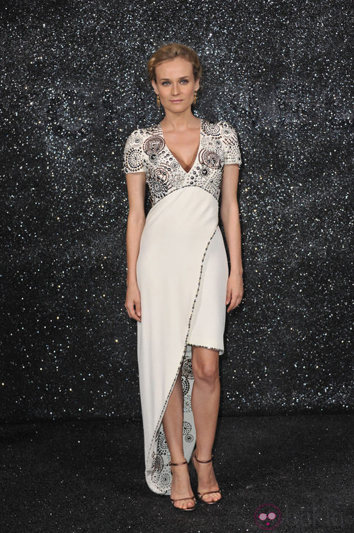 Diane Kruger en el Chanel Haute Couture otoño/invierno 2011