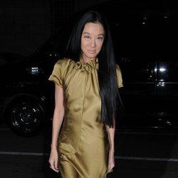 La diseñadora Vera Wang