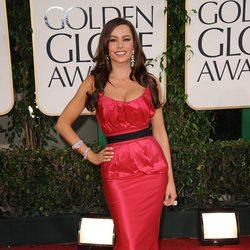 Sofia Vergara de Vera Wang en los Globos de Oro