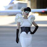 Lady Gaga con corsé en Australia