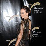 Olivia Wilde de Gucci en el Festival de Cine de Locarno