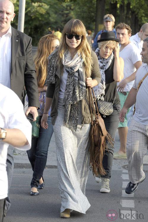 Street style de Olivia Wilde en Londres