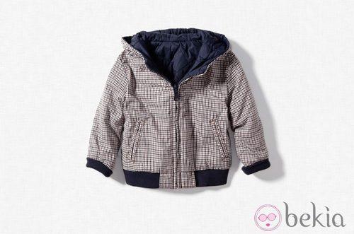 Cazadora reversible de Zara Kids, otoño/invierno 2011