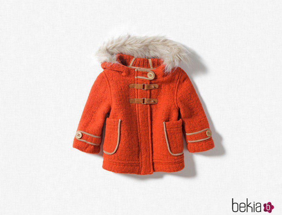 6a9c6b2e9 Abrigo de niña de Zara Kids, otoño/invierno 2011 - Foto en Bekia Moda