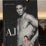 Rafa Nadal presenta la nueva campaña de Armani Jeans