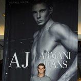 Rafa Nadal posa ante la nueva campaña de Armani Jeans