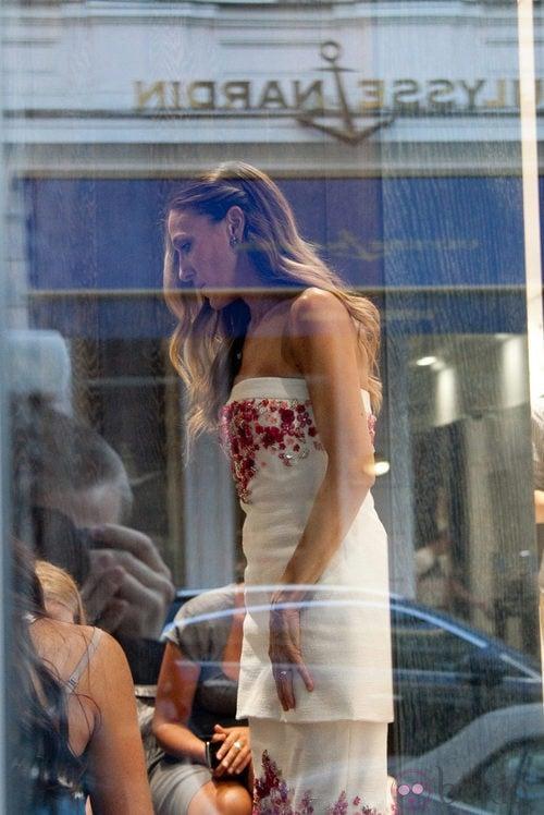 Sarah Jessica Parker de compras en Manolo Blahnik