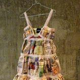 Vestido de papel de Aspesi