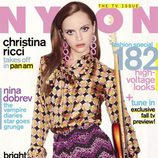 Christina Ricci, portada de Nylon en septiembre de 2011