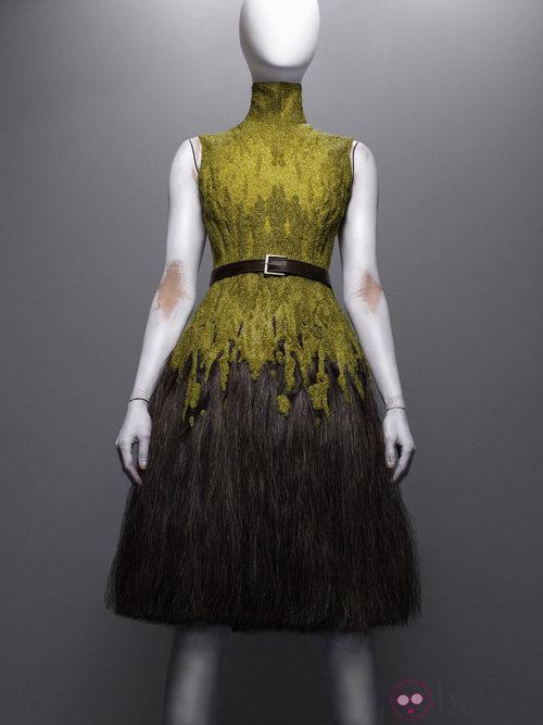 Vestido de la colección Eshu de Alexander McQueen