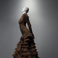 Vestido de Widows of Culloden de Alexander McQueen, otoño/invierno 2006