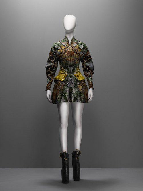 Vestido de la colección Plato's Atlantis de Alexander McQueen