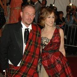 Alexander McQueen y Sarah Jessica Parker