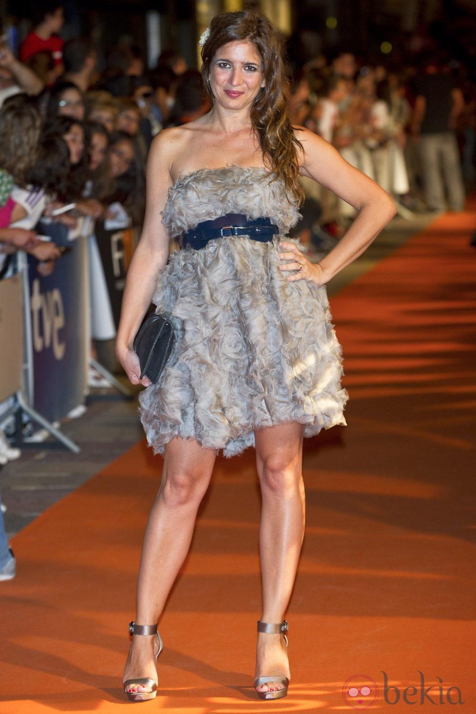 Lucía Jiménez, de Adolfo Domínguez, en el Festival de Televisión de Vitoria 2011