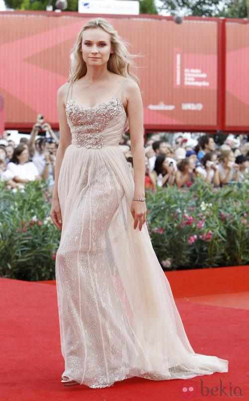 Diane Kruger, deslumbrante de Elie Saab en el Festival de Venecia