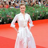 Evan Rachel Wood de Alessandra Rich en el Festival de Venecia
