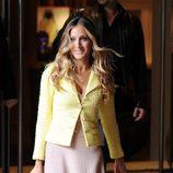 Sarah Jessica Parker con chaqueta de Chanel en Londres