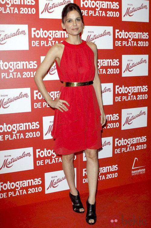 Elena Anaya en los Fotogramas de Plata 2010