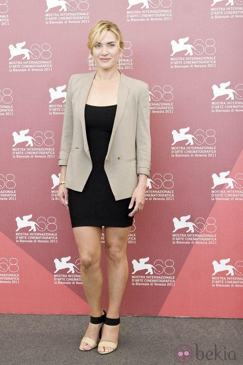 Kate Winslet presenta 'Un dios salvaje' en Venecia