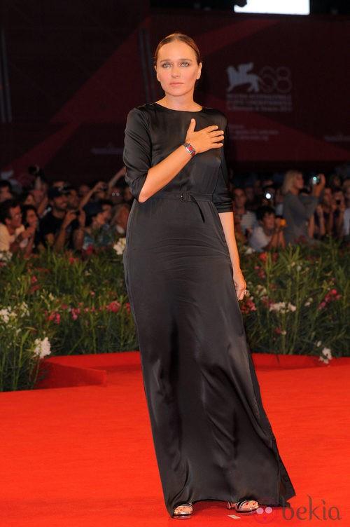 Valeria Golino en el Festival de Venecia