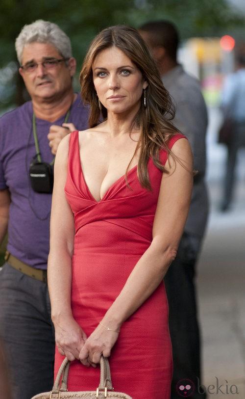 Liz Hurley, la nueva 'cougar' de 'Gossip girl'