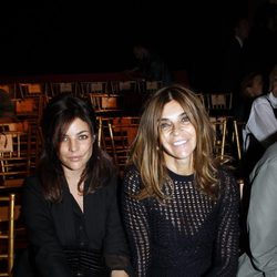 Carine Roitfeld y su hija, Julia Restoin Roitfeld