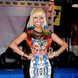 Nicki Minaj, embutida y desbordante