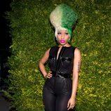 Nicki Minaj con body de cuero