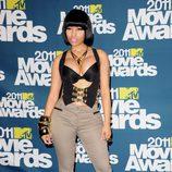 El look más discreto de Nicki Minaj