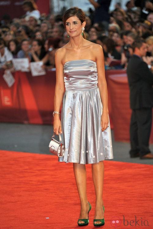 Livia Giuggioli, mujer de Colin Firth, en el Festival de Venecia