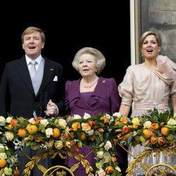 Los looks de la Reina Máxima de Holanda durante la coronación