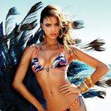 Irina Shayk con un biquini estampado de la colección primavera/verano 2013 de Beach Bunny