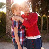 Conjuntos para niño y niña de la colección primavera/verano 2013 de Benetton