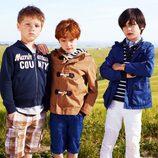 Chaquetas, sudaderas y pantalones para niño de la colección primavera/verano 2013 de Benetton