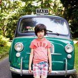 Camiseta de algodón para niño de la colección primavera/verano 2013 de Benetton