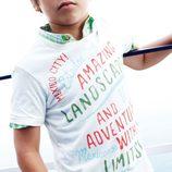 Camiseta con grafismos para niño de la colección primavera/verano 2013 de Benetton