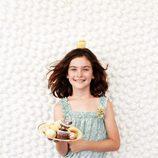 Vestido de tirantes para niña de la colección primavera/verano 2013 de Benetton
