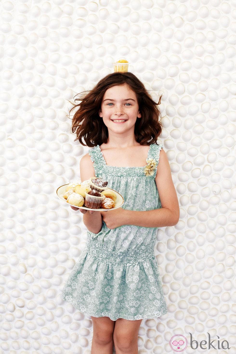 Anterior Vestido de tirantes para niña de la colección primavera verano  2013 de Benetton 1c5d0f0b76a