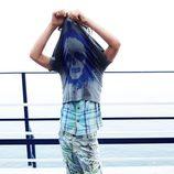 Pantalón con motivos tropicales de la colección primavera/verano 2013 de Benetton
