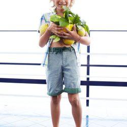 Catálogo de la colección primavera/verano 2013 de Benetton Niños.