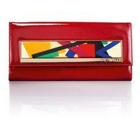Modelo rojo del clutch 'Noche Vienesa' de Frey Wille